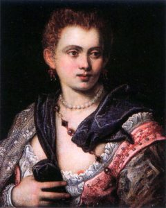 Courtesan Veronica Franco