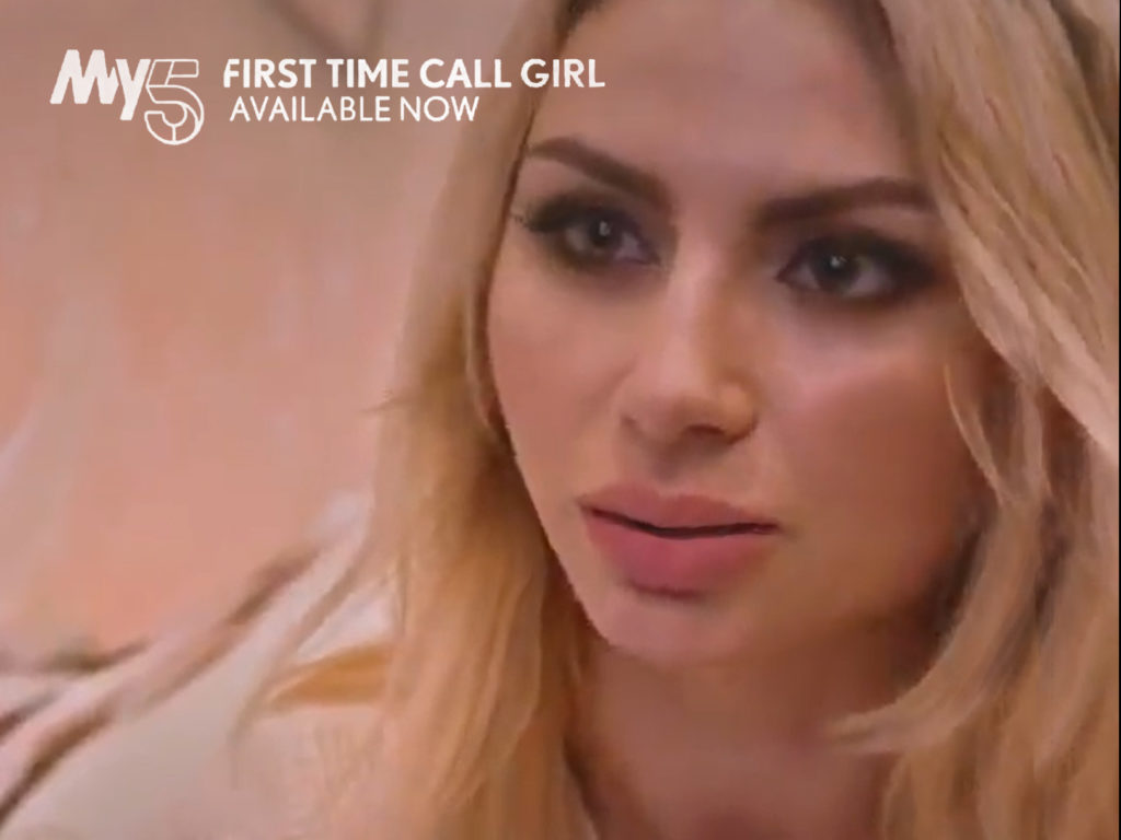 First Time Call Girl on 5Star
